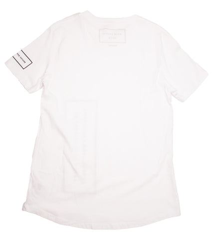 Adyn - White Adapt Front Moto Tee - COMMON  - 2