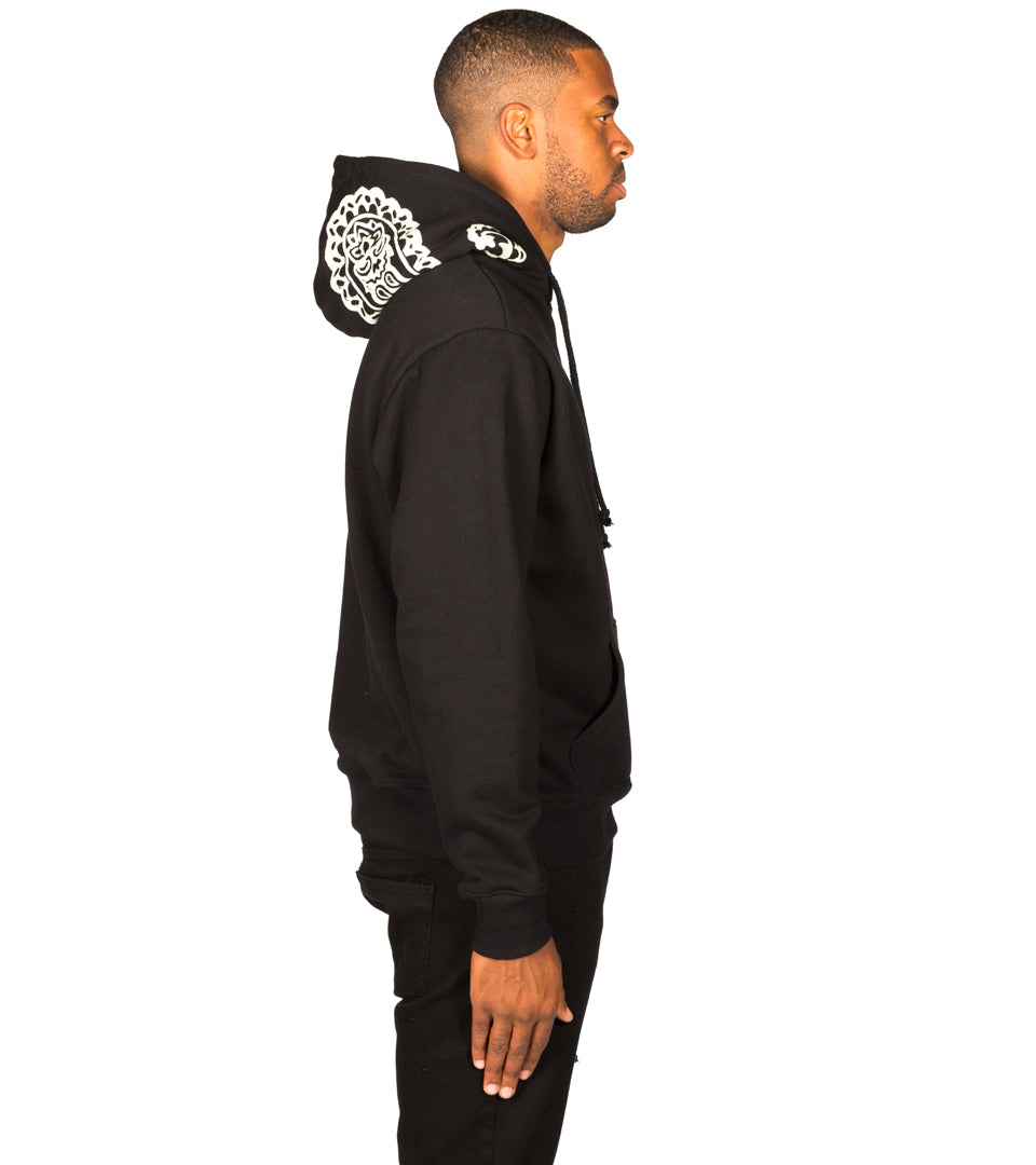 424 - Paisley Hooded Sweatshirt