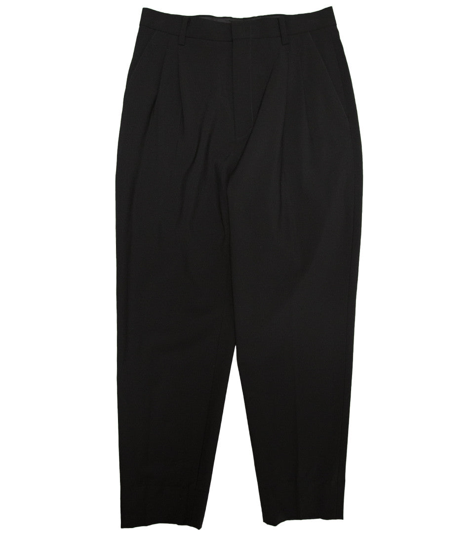 SECOND LAYER - PLEATED TAPPERED TROUSER - COMMON  - 1
