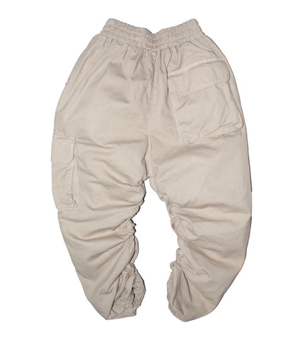 NID DE GUEPES - CARGO ZIP PANTS - COMMON  - 2