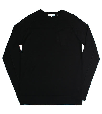 HELMUT LANG - FINE WOOL CREWNECK - COMMON  - 1