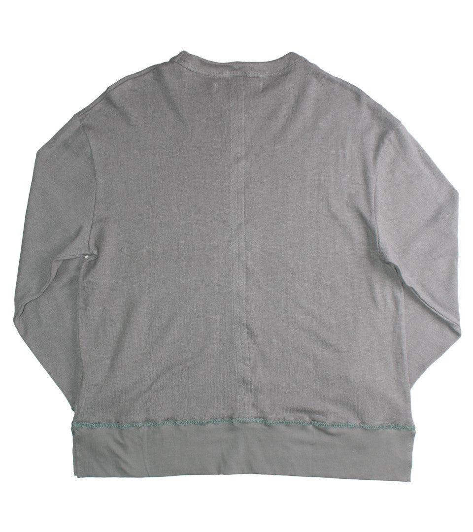 MR. COMPLETELY - LONG SLEEVE HEMP TEE - COMMON  - 2