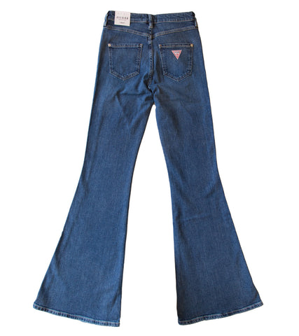 GUESS ORIGINALS x A$AP ROCKY - Womens Low-Rise Flare Jeans