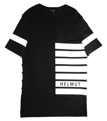 HELMUT LANG - OVERSIZED LOGO TEE - COMMON  - 1