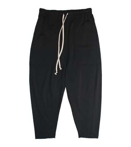 RICK OWENS DRKSHDW - DRAWSTRING CROPPED PANTS - COMMON  - 1