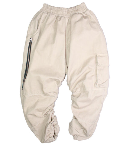 NID DE GUEPES - CARGO ZIP PANTS - COMMON  - 1