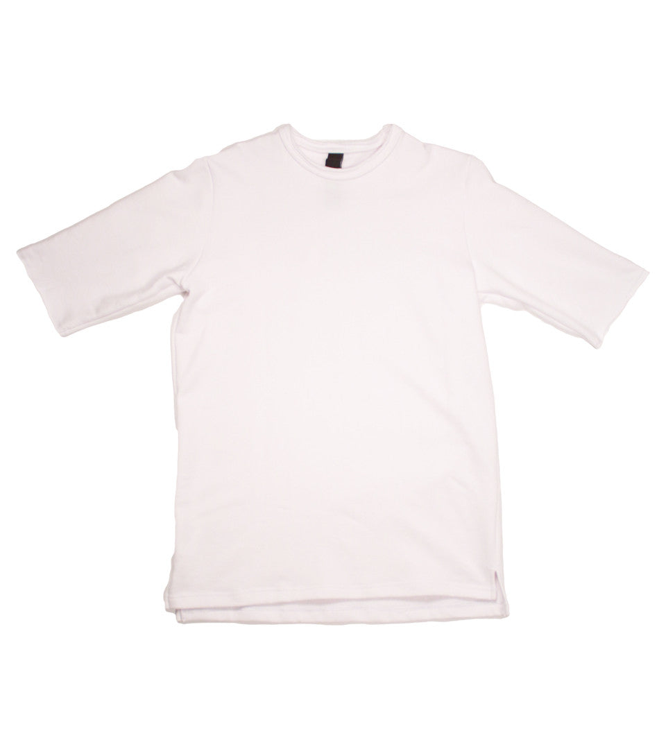 Adyn - White Adapt Patch S/S Sweat - COMMON  - 2