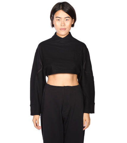 Y-3 - WOOL SHORT TOP