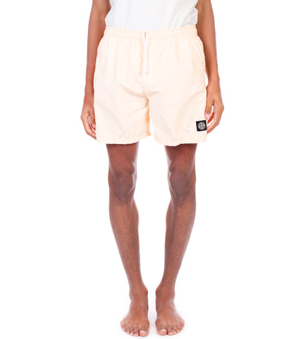 BRUSHED COTTON SWIM SHORTS