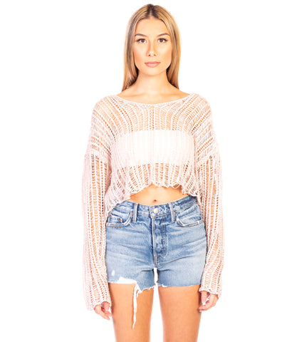 BEACH SHACK KNIT TOP
