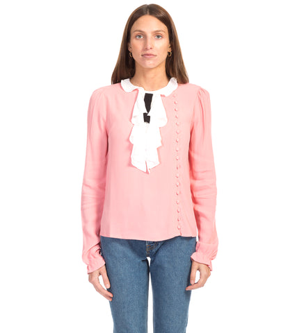 MOCKINGBIRD SECRETARY BLOUSE
