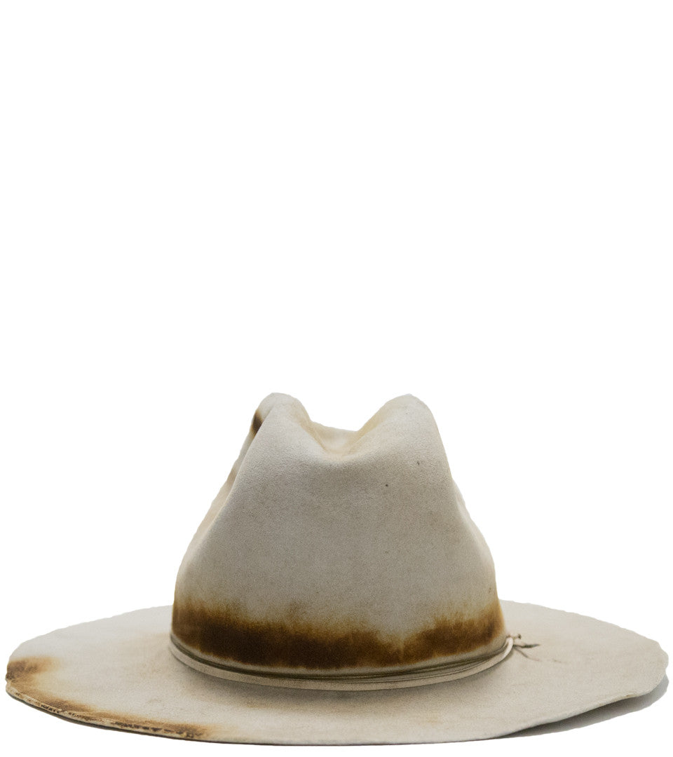 TUCKER SHANLEY HAT CO. -  DISTRESSED RABBIT FUR HAT - COMMON  - 2