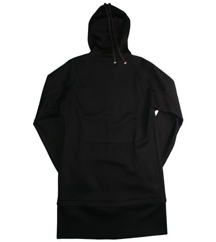 HELMUT LANG - ZIP AWAY LONG HOODIE - COMMON  - 2