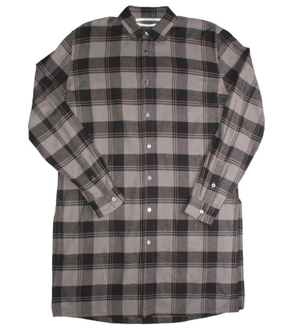 ROBERT GELLER - LONG FLANNEL  SHIRT - COMMON  - 1