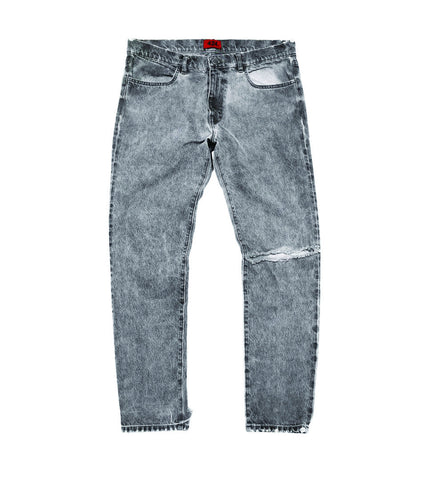 424 - DISTRESSED DENIM PANT - COMMON  - 1