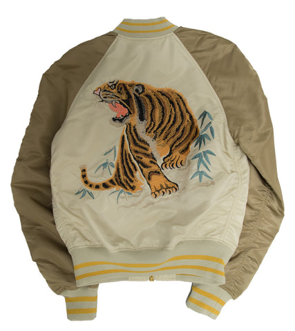 ALPHA INDUSTRIES - TIGER SOUVENIR JACKET