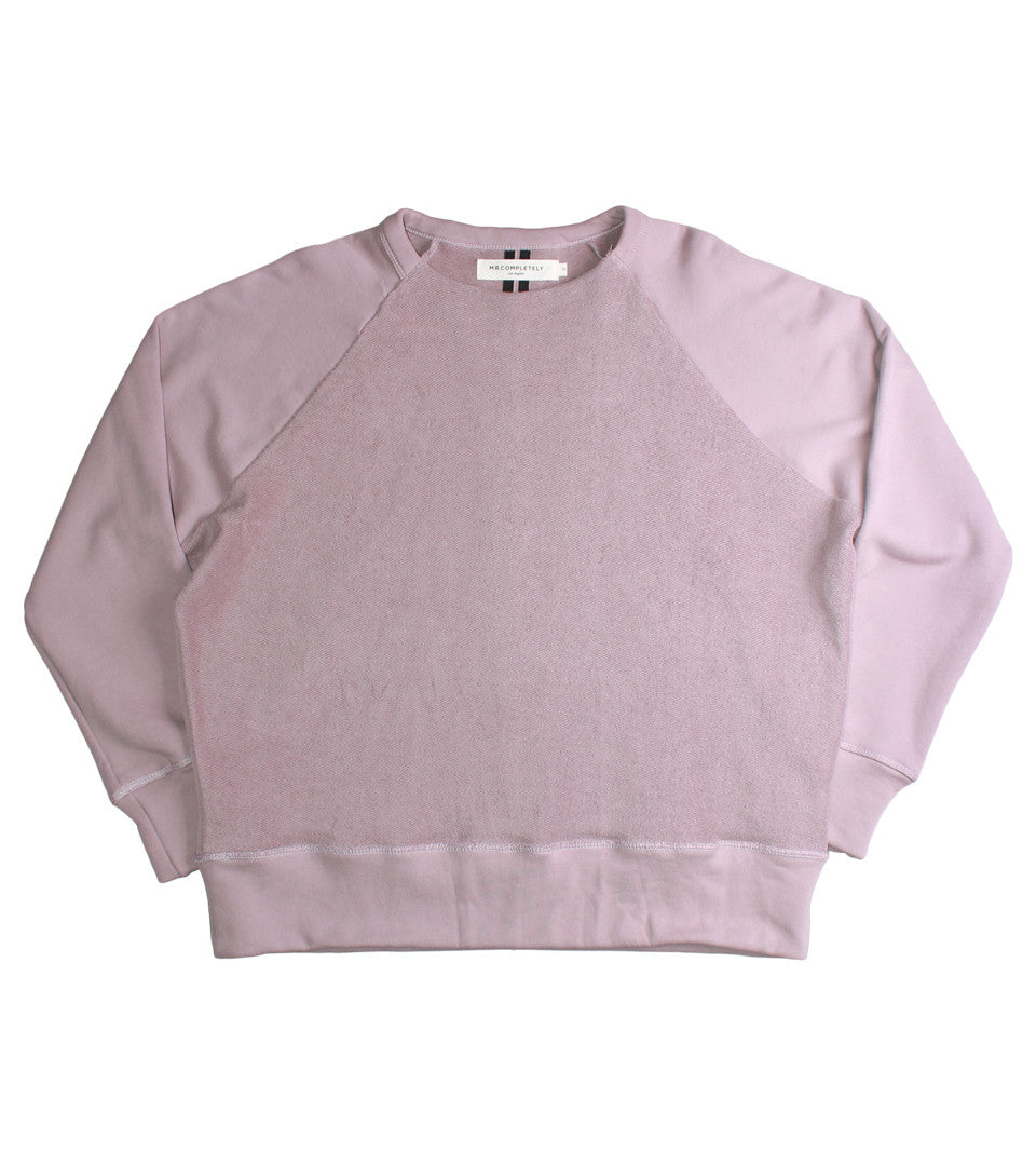 MR. COMPLETELY - REVERSE FRONT CREWNECK - COMMON  - 1