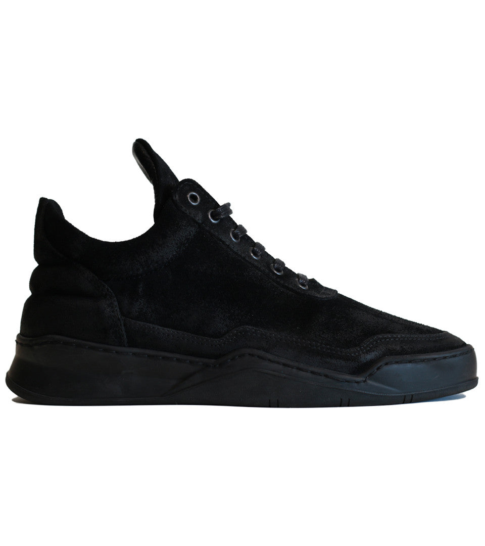 Filling Pieces - Low Top Ghost Black - COMMON  - 1
