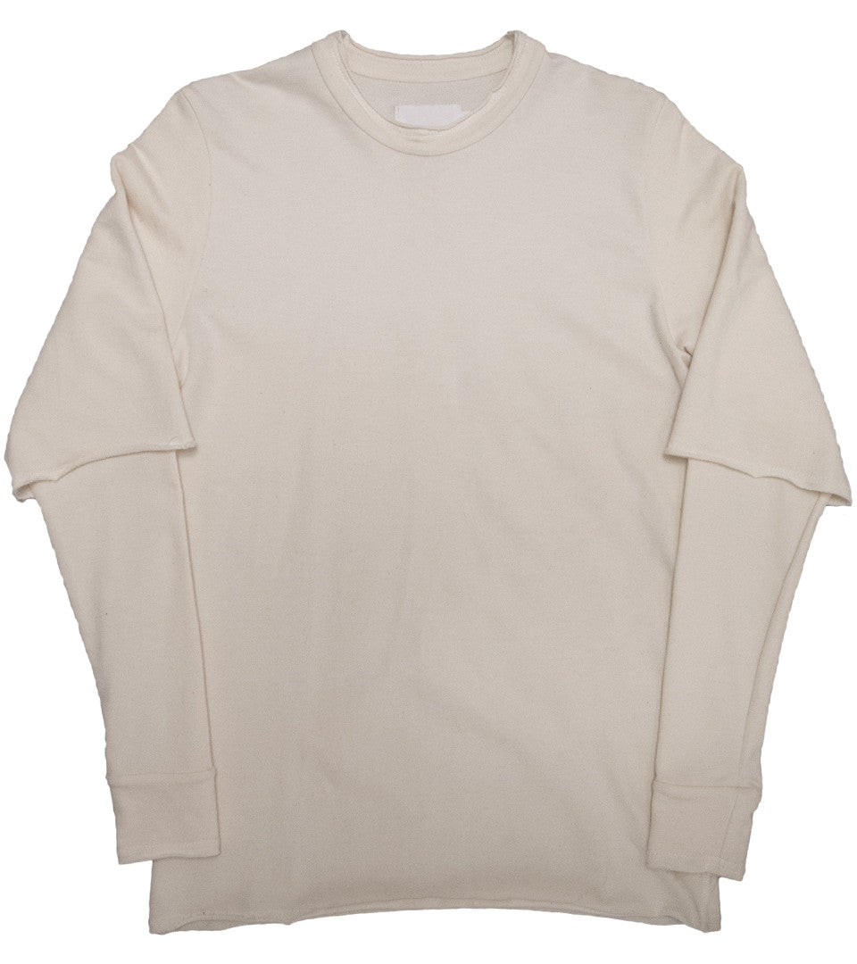 ADYN - TERRY SWEAT WHITE - COMMON  - 1