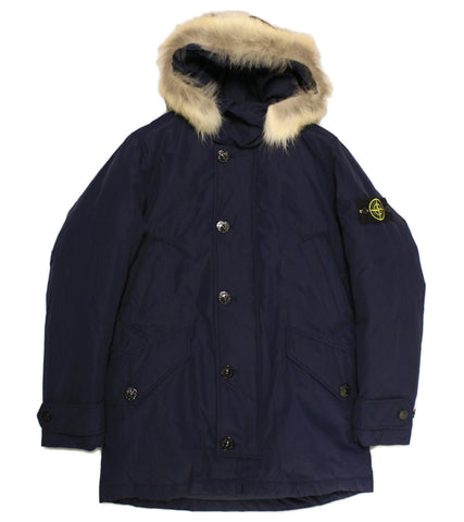 STONE ISLAND - MICRO REPS FUR  DOWN JACKET - COMMON  - 1