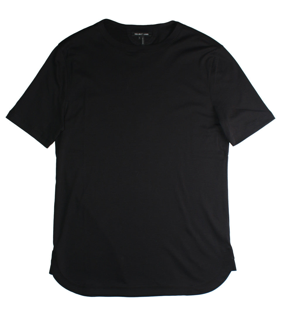 HELMUT LANG - BRUSHED JERSEY TEE - COMMON  - 1