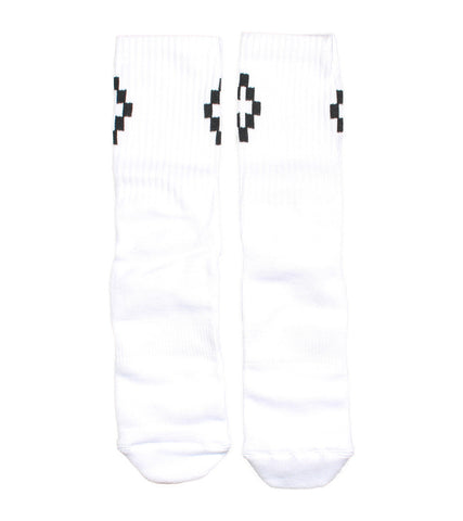 marcelo burlon county of milan - cruz short socks - COMMON  - 1