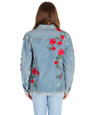 DARIA OVERSIZED DENIM JACKET