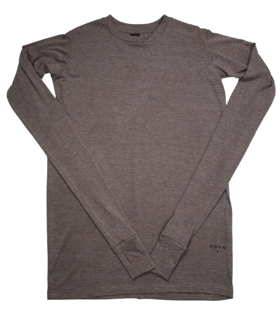 Adyn - Grey Essential Long Sleeve Tee - COMMON  - 1