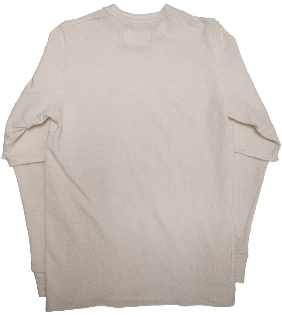 ADYN - TERRY SWEAT WHITE - COMMON  - 2