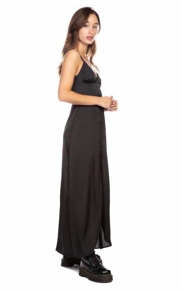 ISABELLA BUTTON UP MAXI