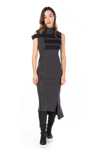 y-3 - Stripes Track Dress