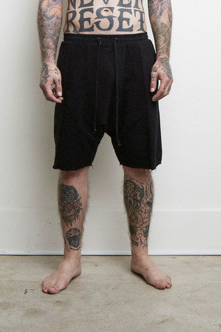 Knomadik - Roaming Jogger Short - Black - COMMON