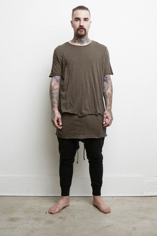 Knomadik - double Layered Tee Army - COMMON