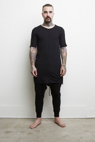 Knomadik - Loose Tee - Black - COMMON
