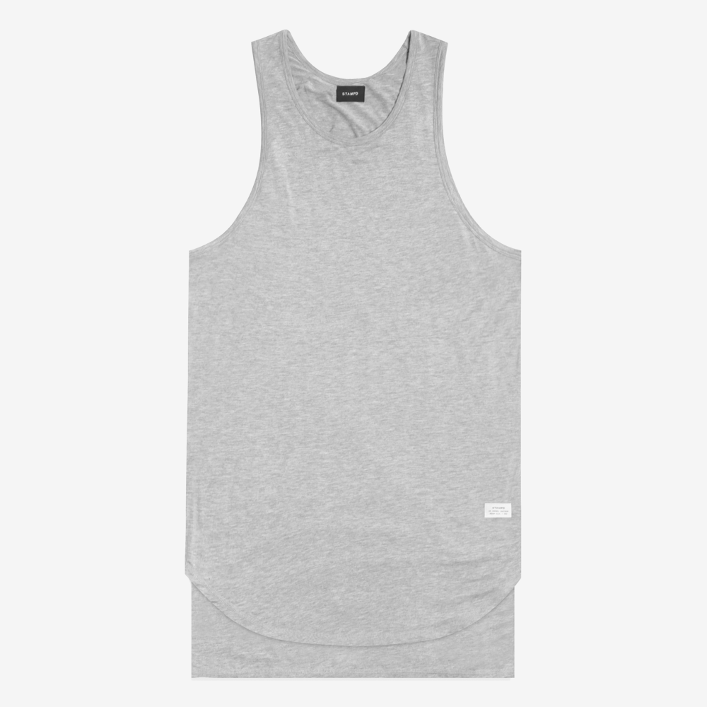 Stampd - Double Layer Muscle Tee Grey - COMMON  - 1