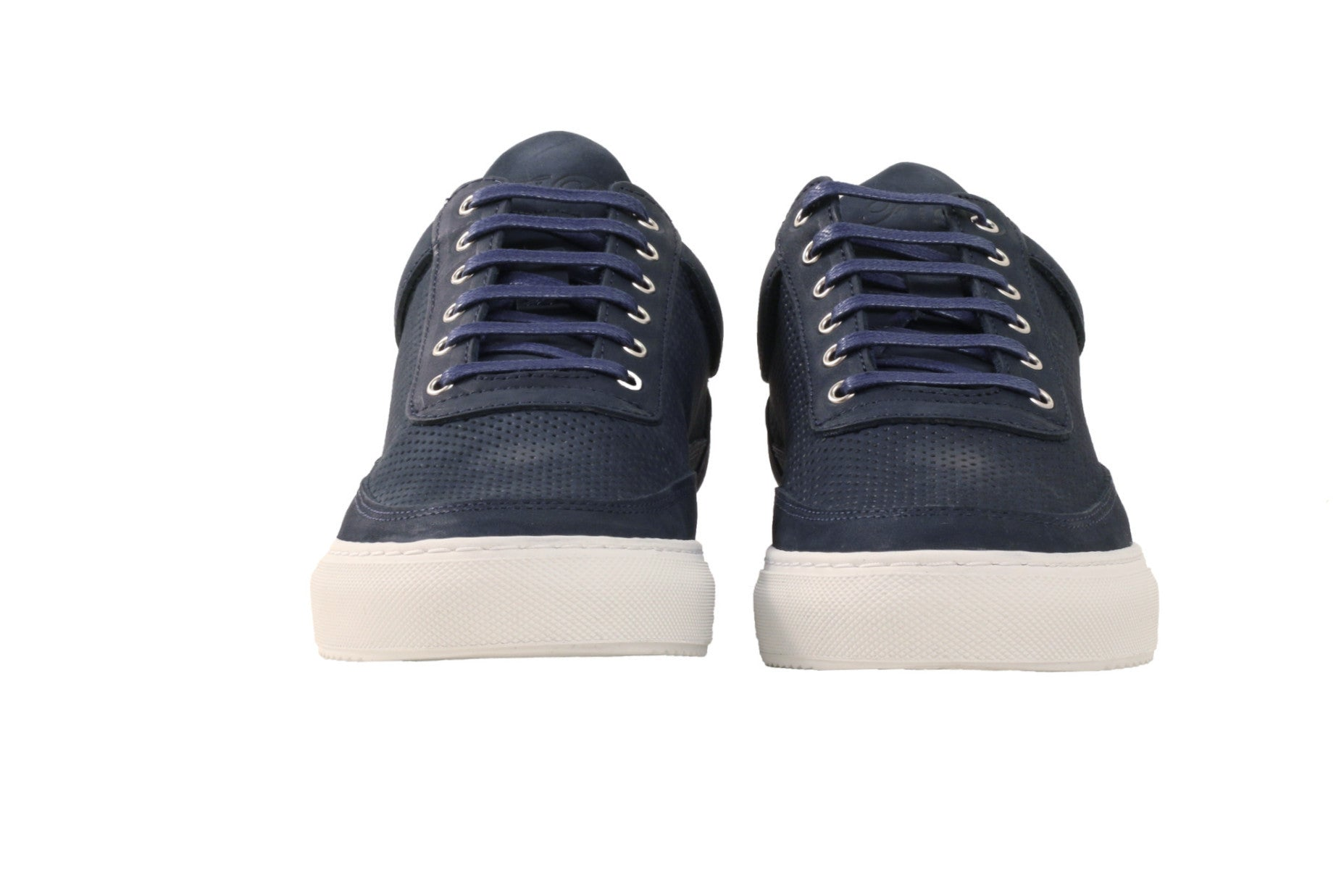 Filling Pieces - Low Top Tone Perforated Navy - COMMON  - 2