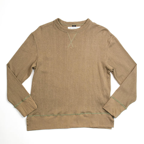 Mr. Completely - Long Sleeve Hemp T Olive - COMMON  - 1