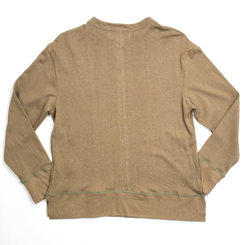 Mr. Completely - Long Sleeve Hemp T Olive - COMMON  - 2