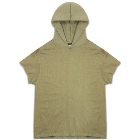Mr. Completely - Big T Hoodie Olive - COMMON  - 1