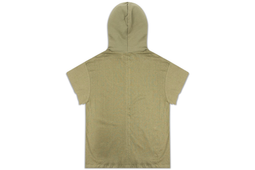Mr. Completely - Big T Hoodie Olive - COMMON  - 2