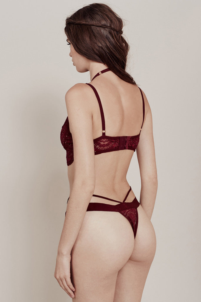 For Love and Lemons- Lucia Lace Thong - COMMON  - 2