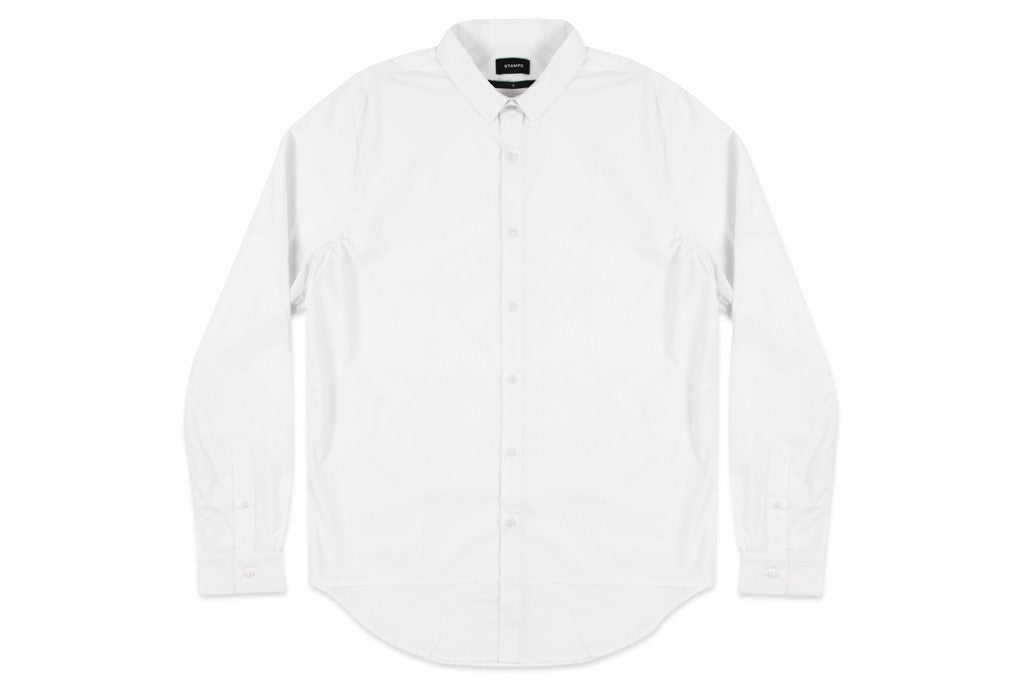 Stampd - Double Layer Dress Shirt White - COMMON