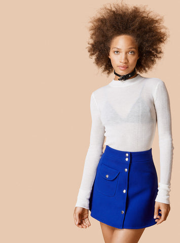 Unif - Valen Skirt Blue - COMMON