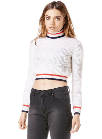 Unif - Olympia Sweater White - COMMON