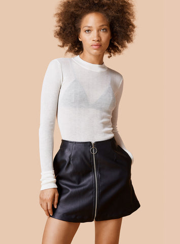 Unif - Reese Skirt Black - COMMON