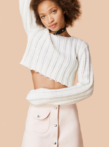 Unif - Certa Sweater White - COMMON
