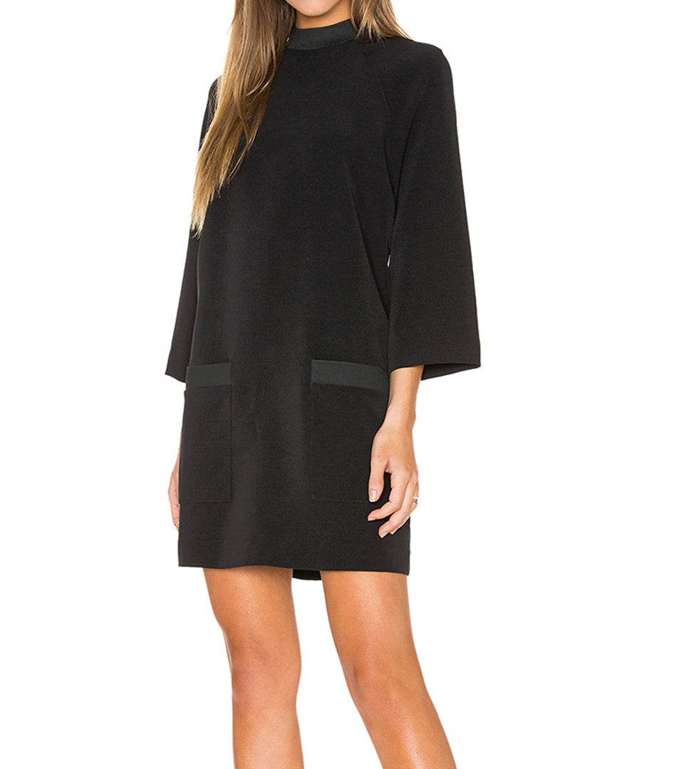 Kendall and Kylie - Boxy A-line Dress - COMMON  - 1
