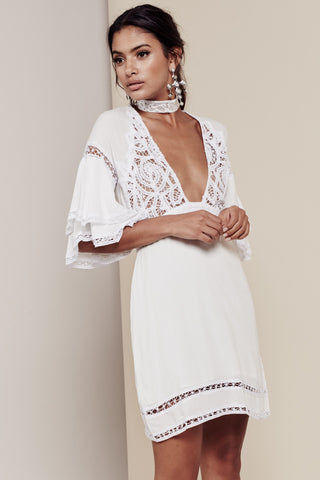 For Love and Lemons- Carmine Mini Dress - COMMON