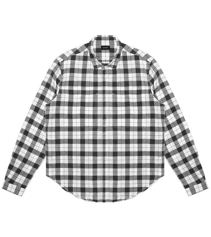 Stampd - Grid Dress Shirt White