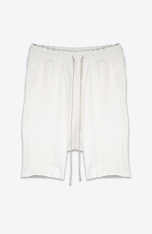 Nid De Guepes - Biker Sweat Short White - COMMON